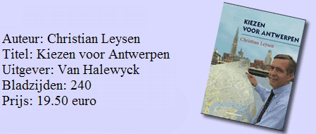 Kiezen voor Antwerpen cover